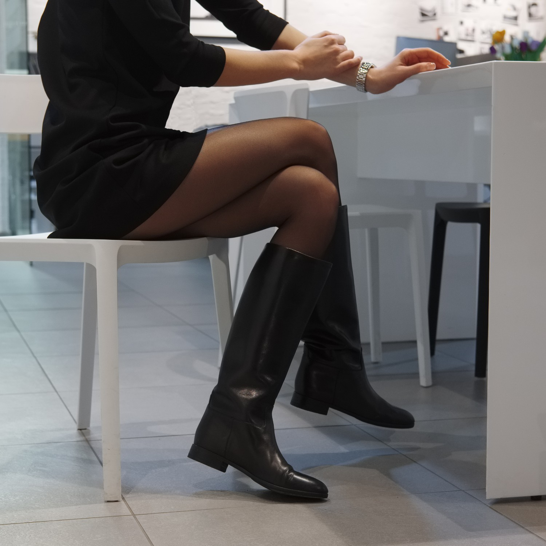 The Best Women's Tall Flat Black Boots