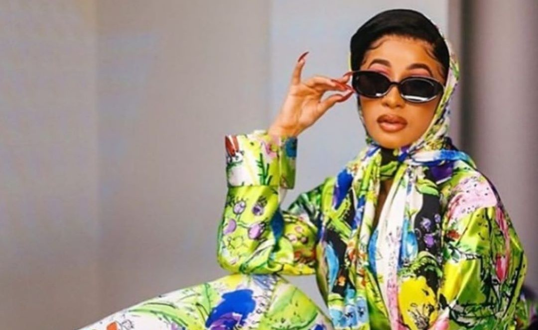 Cardi Bs Body: Cardi B Shows Off Her Natural Hair For Daughter Kulture's