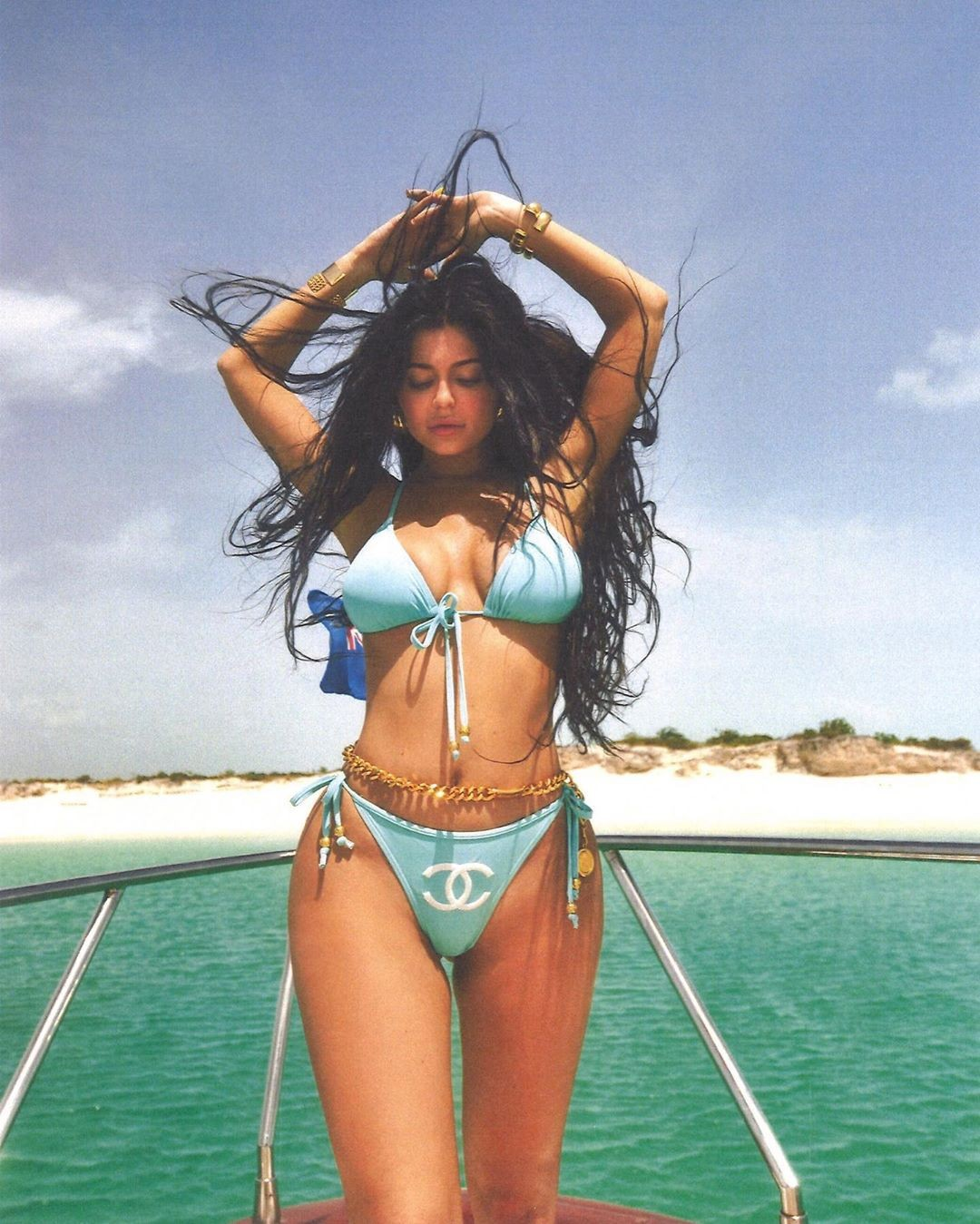 Of Course Kylie Jenner's Chanel Bikini Was On Naomi Campbell First