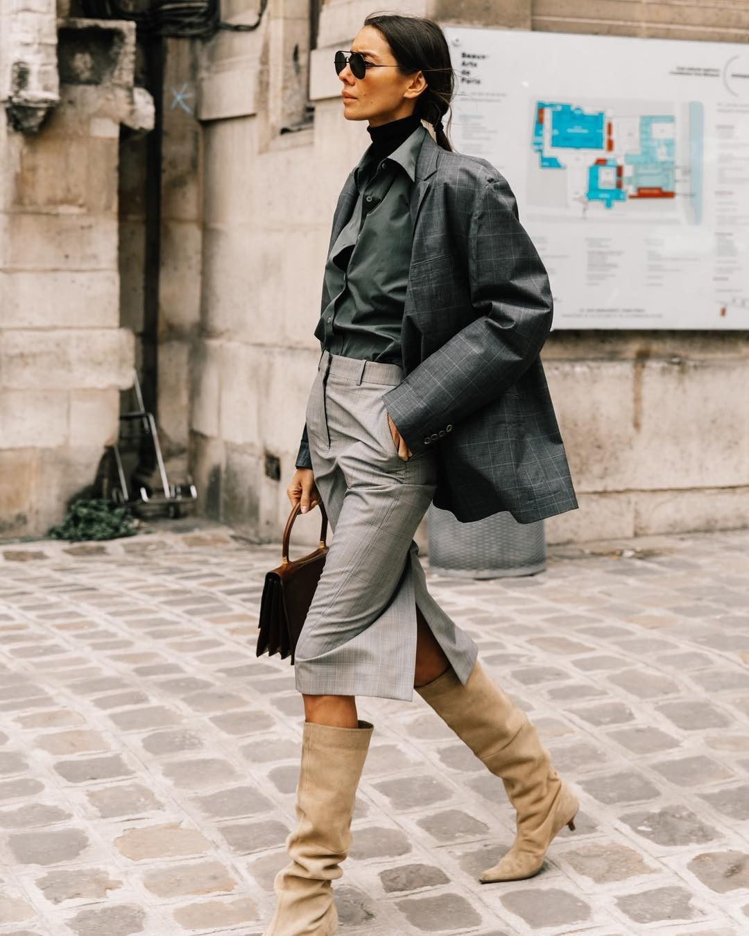 A Winter-Ready Layering Trick For Maximizing Your Closet